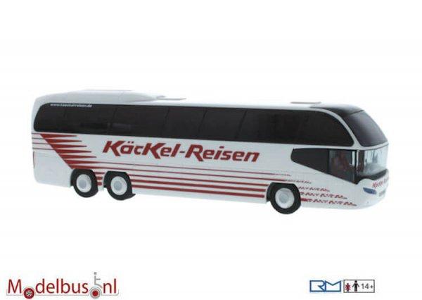 Rietze 67132 Neoplan Cityliner N 1217 HDC Käckel Reisen, Grebenstein Modelbus.nl