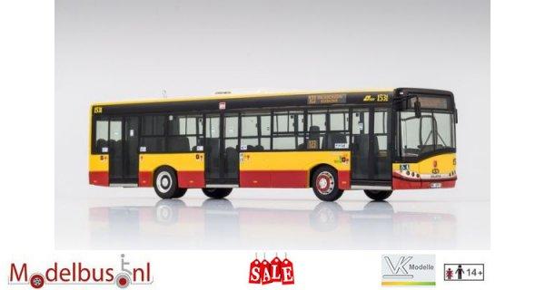 VK-Modelle 19950 Solaris U12 Miejskie Zaklady Autobusowe MZA, Warschau