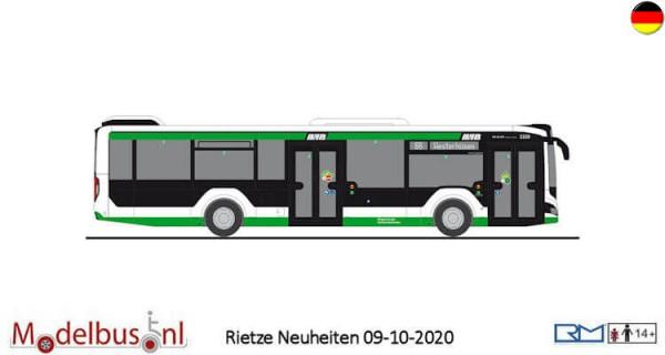 """Rietze 75316 MAN Lion's City 12 ´18 """"Magdeburger Verkehrsbetriebe"""""""