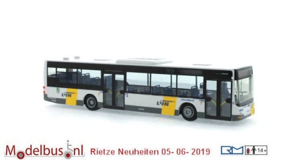 Rietze 73913 MAN Lion´s City ´15 De Lijn
