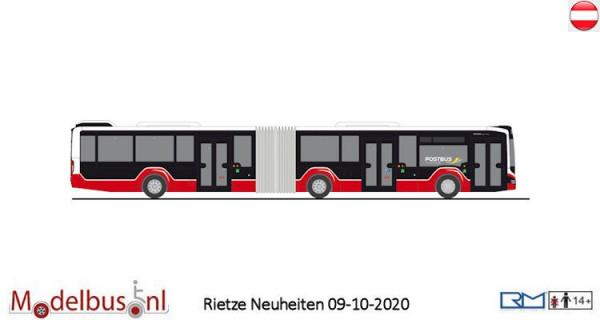 "Rietze 75809 MAN Lion's City 18 18 ""Postbus-Wiener Linien"""