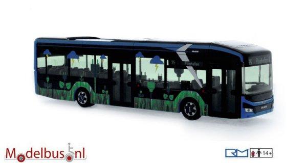 Rietze 76302 MAN Lion´s City 12 E Vorführdesign