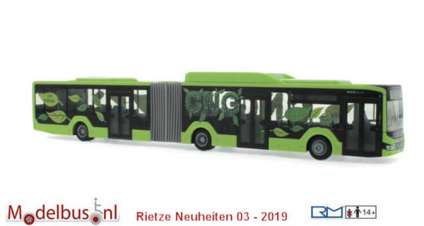 Rietze 75801 MAN Lion's City 18 G '18 Vorführdesign