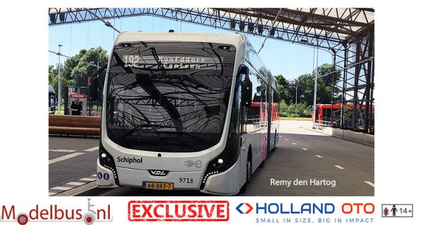 HollandOto 8-9718 Connexxion Schiphol VDL Citea SLFA