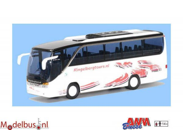 AWM Automodelle 73919 Setra S 411 HD Ringelberg