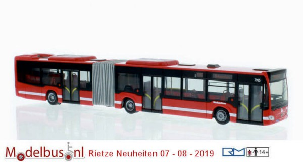 Rietze 73650 MB Citaro Hybrid Arriva Stockholm