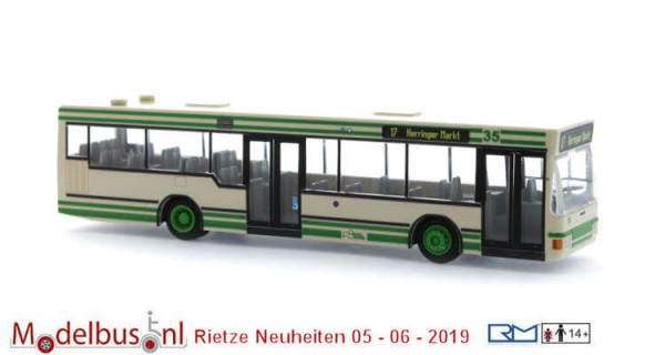 Rietze 75015 MAN NL 202-2 Stadtwerke Hamm