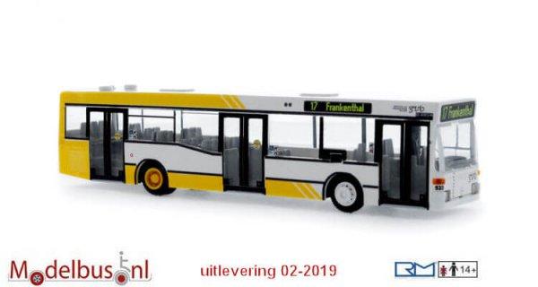 Rietze 75219 Mercedes-Benz O 405 N2 3-trg. Verkehrsbetriebe Gera