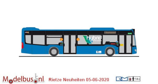 Rietze 73443 Mercedes Benz Citaro II Hybrid 2 drs