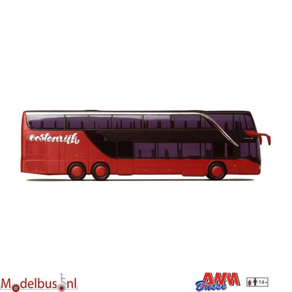 AWM Automodelle 71740 Setra S 431 DT Oostenrijk Diemen