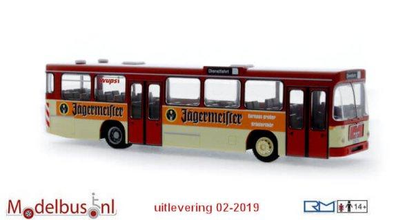 Rietze 72348 MAN SL 200 Wupsi Leverkusen -Jägermeister