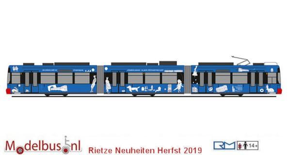 "Rietze STRA01065 ADTRANZ GT6N ""VAG Nürnberg Städtepartnerschaft"""