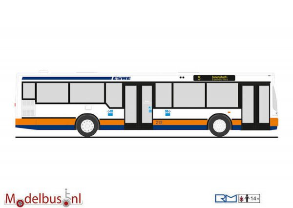 Rietze 75010 MAN NL 202-2 ESWE Wiesbaden