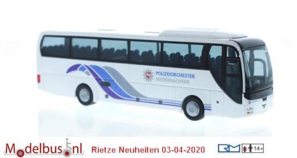 Rietze 65557 MAN Lion´s Coach Polizeiorchester Niedersachsen