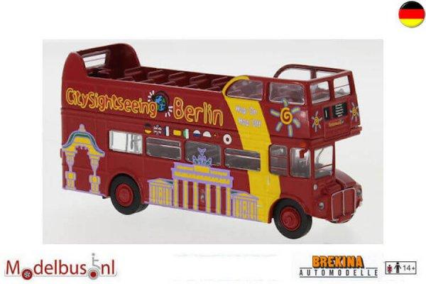 Brekina 61104 AEC Routemaster open City Sightseeing Berlin