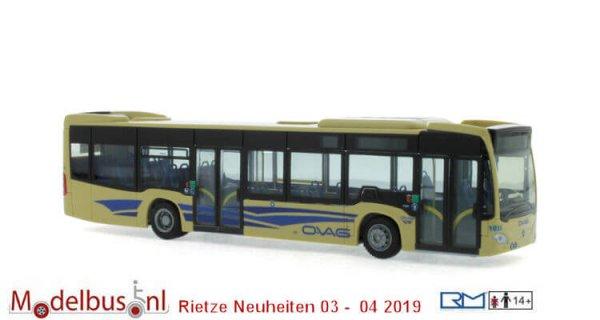 Rietze 69484 Mercedes-Benz Citaro ´12 Oberbergische Verkehrsg. Gummersbach