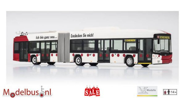 VK-Modelle 18181 Hess Swiss Trolley TPF